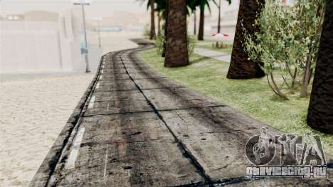 New Beach Textures для GTA San Andreas третий скриншот