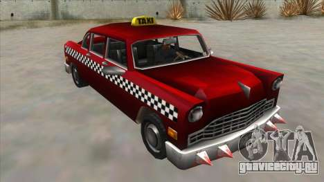 GTA3 Borgnine Cab для GTA San Andreas