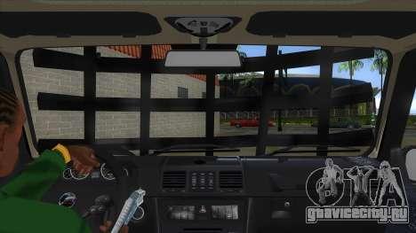 Mercedes-Benz G55 Response для GTA San Andreas вид изнутри
