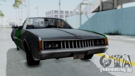 Clover Cabrio для GTA San Andreas вид сзади слева