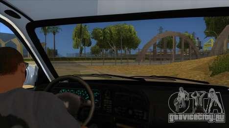 Honda Accord Sedan 1997 для GTA San Andreas вид изнутри
