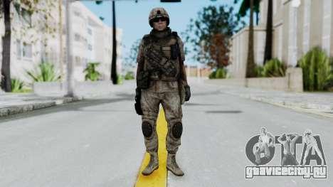 Crysis 2 US Soldier 1 Bodygroup B для GTA San Andreas второй скриншот