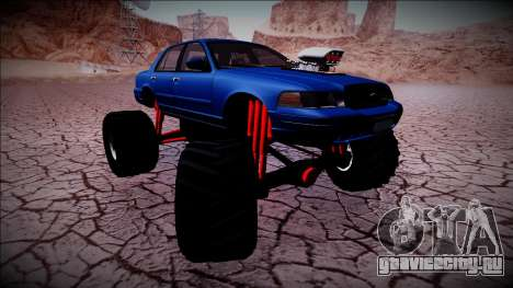 2003 Ford Crown Victoria Monster Truck для GTA San Andreas двигатель