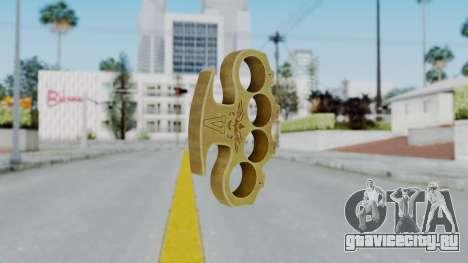 The Hustler Knuckle Dusters from Ill GG Part 2 для GTA San Andreas второй скриншот