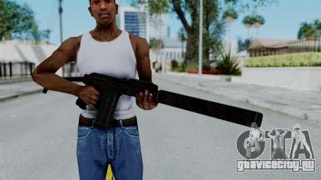 9A-91 Suppressor для GTA San Andreas третий скриншот