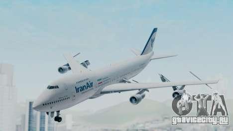 Boeing 747-186B Iran Air для GTA San Andreas