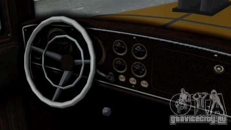 GTA 5 Albany Roosevelt Valor IVF для GTA San Andreas вид сзади слева