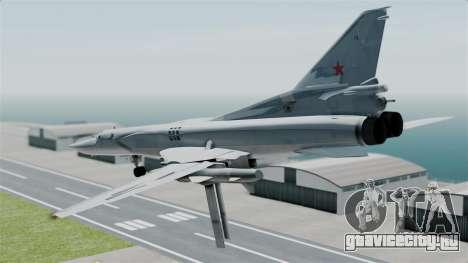 ТУ-22М3 для GTA San Andreas вид справа