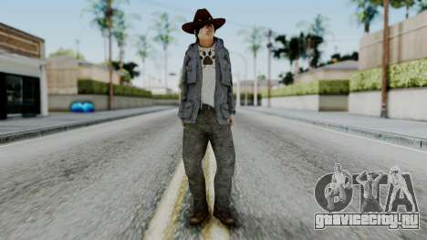 Carl Grimes from The Walking Dead для GTA San Andreas второй скриншот