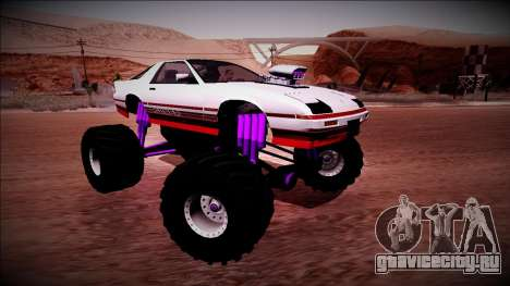 GTA 5 Imponte Ruiner Monster Truck для GTA San Andreas вид сверху