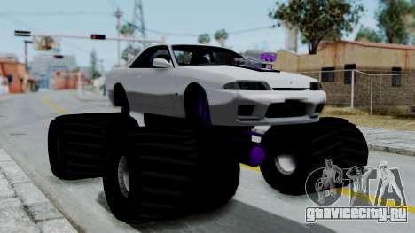 Nissan Skyline R32 Monster Truck для GTA San Andreas