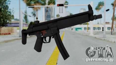 Arma AA MP5A5 для GTA San Andreas