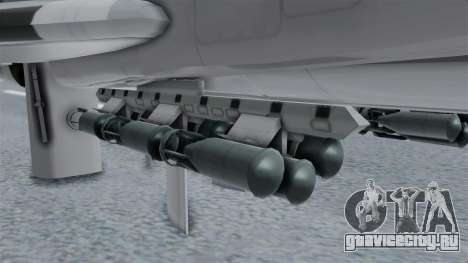 ТУ-22М3 Grey для GTA San Andreas вид справа