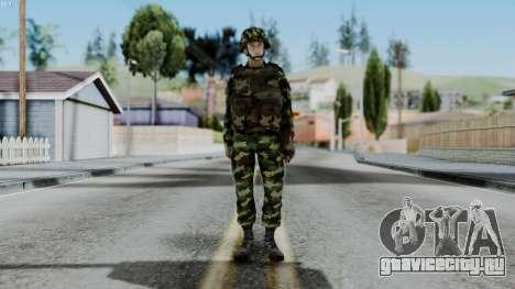 Srpski Vojnik 1999 для GTA San Andreas второй скриншот