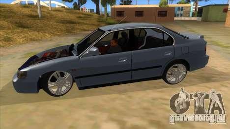 Honda Accord Sedan 1997 для GTA San Andreas вид слева