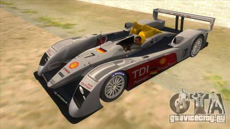 Audi R10 для GTA San Andreas