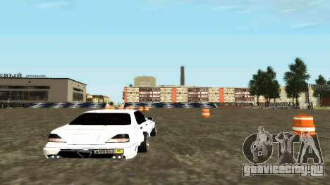 Nissan Cedric WideBody для GTA San Andreas вид справа