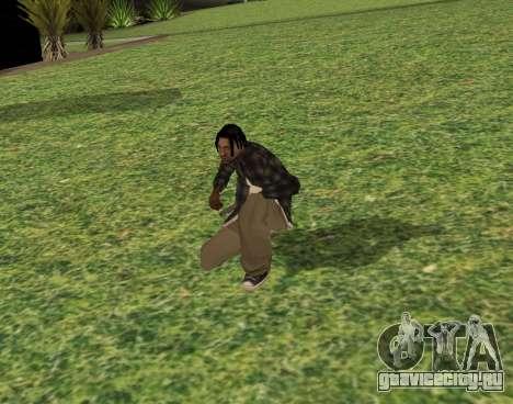 Black fam2 для GTA San Andreas третий скриншот