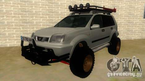 Nissan X-Trail 4x4 Dirty by Greedy для GTA San Andreas