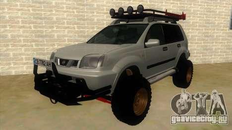 Nissan X-Trail 4x4 Dirty by Greedy для GTA San Andreas