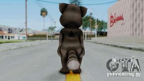 Tom (Adult) from My Talking Tom для GTA San Andreas третий скриншот