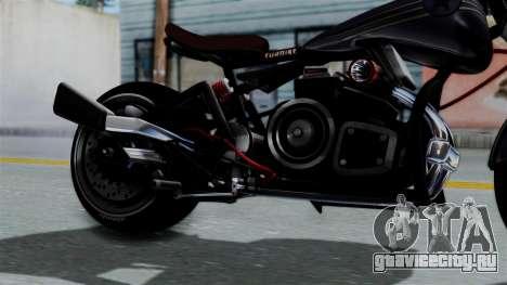 Turbike 2.0 для GTA San Andreas вид справа