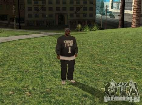 Black fam1 для GTA San Andreas