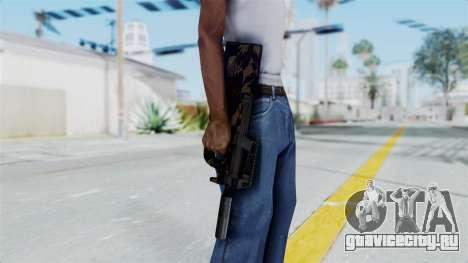 P90 Camo2 для GTA San Andreas третий скриншот