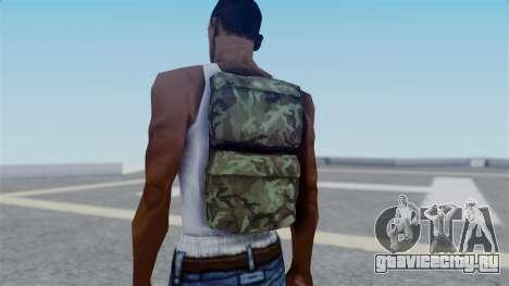 Arma 2 New Backpack для GTA San Andreas третий скриншот