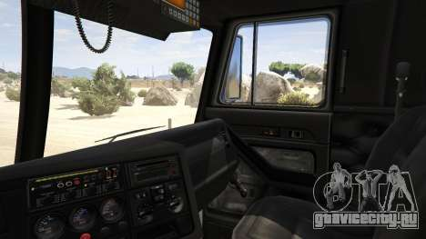 Los Angeles Fire Truck для GTA 5 вид сзади справа