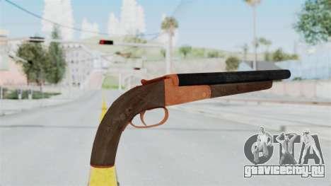 Double Barrel Shotgun Orange Tint (Lowriders CC) для GTA San Andreas третий скриншот