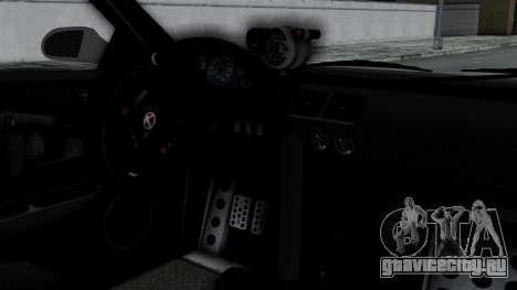 GTA 5 Karin Sultan RS Drift Double Spoiler PJ для GTA San Andreas вид справа