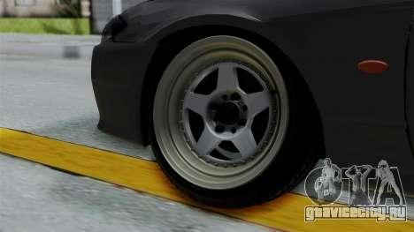 Nissan Silvia S14 Stance для GTA San Andreas вид сзади слева