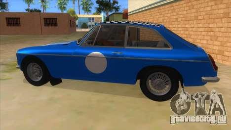 Richard Hammond MGB GT Top Gear для GTA San Andreas вид слева