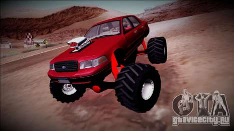 2003 Ford Crown Victoria Monster Truck для GTA San Andreas вид справа