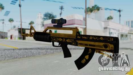 GTA 5 Online Lowriders DLC Bullpup Rifle для GTA San Andreas второй скриншот