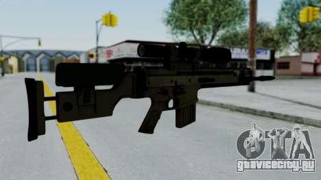 SCAR-20 v2 No Supressor для GTA San Andreas второй скриншот