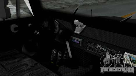 Jeep con Estacas Stylo Colombia для GTA San Andreas вид справа