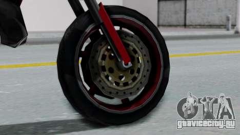 SanchezX для GTA San Andreas вид сзади слева