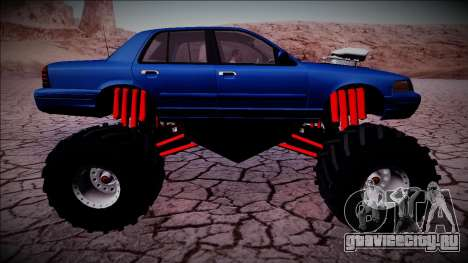 2003 Ford Crown Victoria Monster Truck для GTA San Andreas колёса