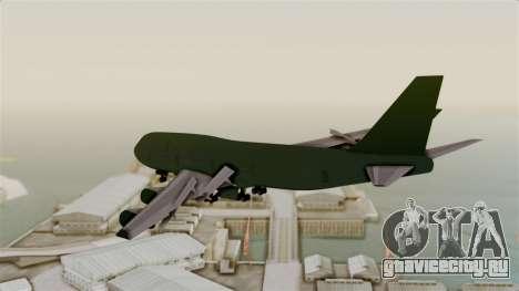 GTA 5 Jumbo Jet v1.0 для GTA San Andreas вид справа