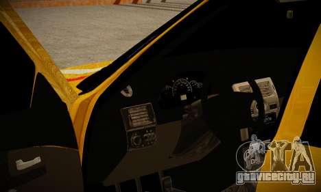 Lada 2170 Priora Gold для GTA San Andreas вид сзади слева