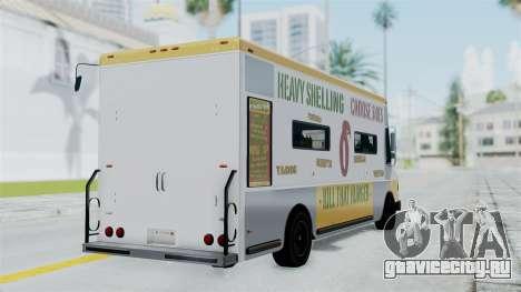 GTA 5 Tacovan для GTA San Andreas вид слева