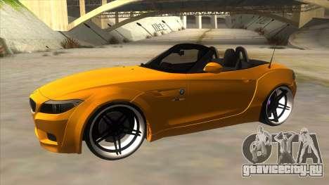 BMW Z4 Liberty Walk Performance для GTA San Andreas вид слева
