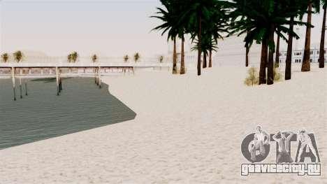 New Beach Textures для GTA San Andreas