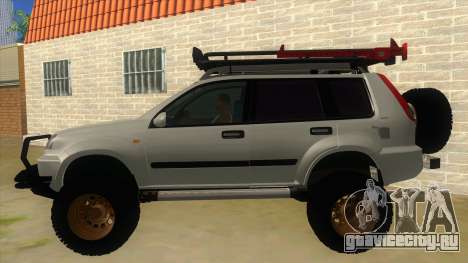 Nissan X-Trail 4x4 Dirty by Greedy для GTA San Andreas вид слева