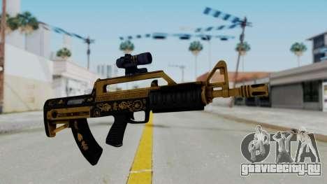 GTA 5 Online Lowriders DLC Bullpup Rifle для GTA San Andreas