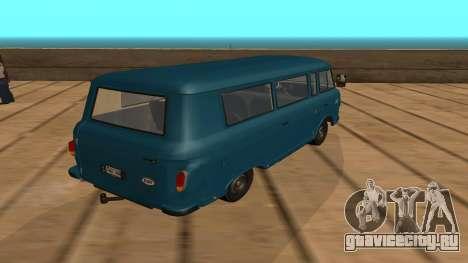 Barkas B1000 для GTA San Andreas вид сзади слева