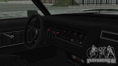 GTA 5 Nightshade для GTA San Andreas вид справа