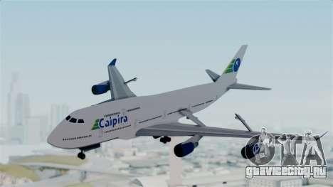 GTA 5 Jumbo Jet v1.0 Caipira Air для GTA San Andreas вид сзади слева
